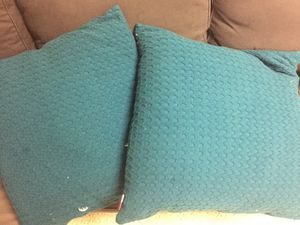 "2 down 24"" x 24"" pillows for Sale in Strongsville, OH"