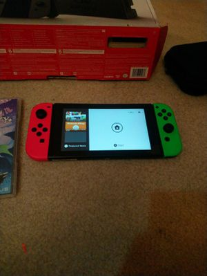 Nintendo Switch with games for Sale in Sacramento, CA