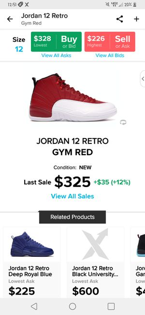 Jordan Retro 12s for Sale in Watertown, TN