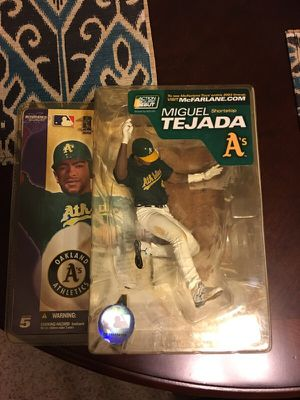 Miguel Tejada McFarlane Action Figure for Sale in St. Louis, MO