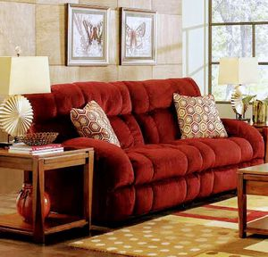 Siesta Wine Sofa Bed and reclining Chair for Sale in Roanoke, VA