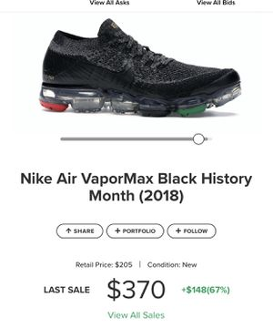 Nike Air vapormax shoes for Sale in Stafford, VA