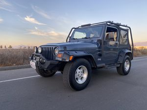 2002 Jeep Wrangler 4x4 4.0 5speed for Sale in Coronado, CA