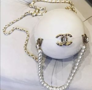 Chanel White Pearl Ball Bag Vip Gift for Sale in Vienna, VA