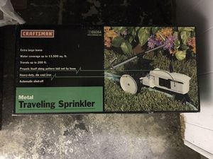 Craftsman metal traveling sprinkler for Sale in Billerica, MA