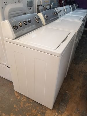 Whirlpool top loads washer and dryer electric for Sale in Houston, TX
