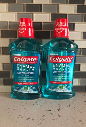 2 Colgate Enamel Health Mouthwash for Sale in Los Angeles, CA