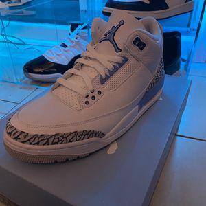 Jordan 3 Unc Size 10 Ds Og All for Sale in Melrose Park, IL