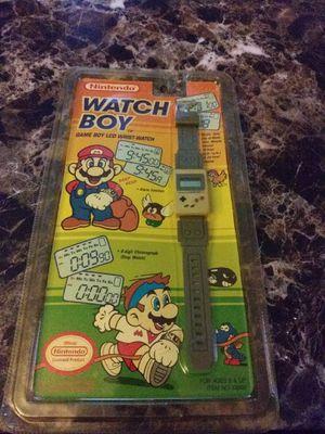 Rare Vintage Game Boy Watch for Sale in Saint CLR SHORES, MI