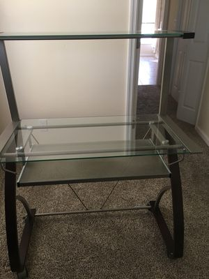 Desk 36 wide x 47 high with wheels for Sale in Sebring, FL