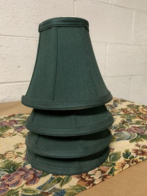 Evergreen Lamp Shades (4) for Sale in West Hollywood, CA