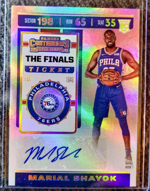 Marial Shayok - (The Finals Ticket) Rookie Auto for Sale in Monroe, LA