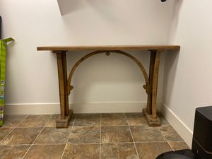 Distressed Wood Entry/Consol Table for Sale in Boulder, CO
