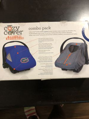 Cozy cover for babies car seat for Sale in Macon, GA