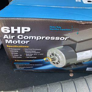 6HP Air Compressor Motor for Sale in Atlanta, GA
