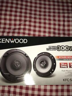 Kenwood Speaker 61/2 300 watts Brand new Never open in the box for Sale in San Bernardino,  CA