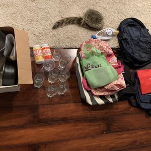 Stuff - Nylon Bags, Bop it Game, North face Backpack FREE for Sale in Fairfax, VA