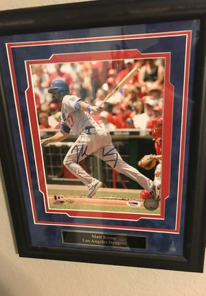 Matt Kemp Autographed photo for Sale in Abilene, TX
