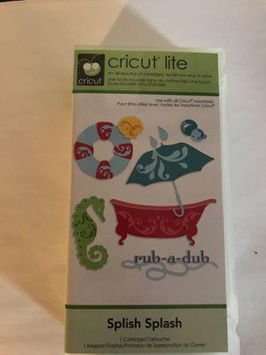 Cricut Cartridge - Splish Splash for Sale in Wallingford, CT