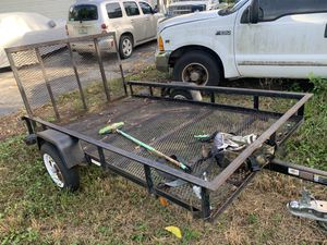 5x8 utility trailer. Great condition. for Sale in Homestead, FL
