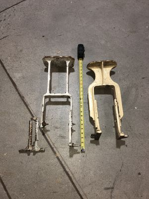 Vintage legs, support, steam punk table legs for Sale in Pomona, CA