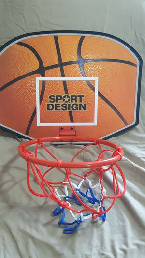 Sport Design Basketball-Backboard & Hoop for Sale in Puyallup, WA