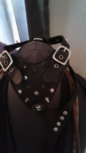 Small dog spiked leather harness for Sale in Clearwater, FL