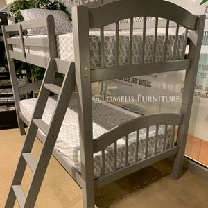 Twin/twin bunk bed with MATTRESS for Sale in Los Angeles, CA