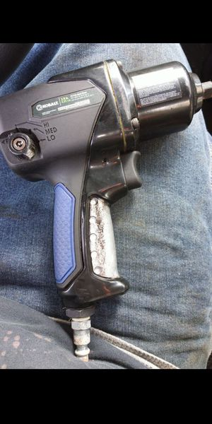 Kobalt 3/8 air impact wrench $25 open to trade for something, let me know for Sale in Lacey, WA