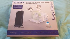 NETGEAR WN2500RP Dual Band WiFi Extender for Sale in Rochester, WA