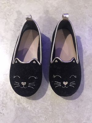 Old Navy Toddler Girl's Faux-Suede Cat Ballet Flats, Size 7 for Sale in San Diego, CA