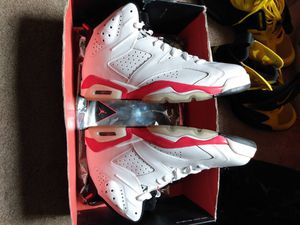 DS Jordan Infrared 6's White 2010 SIZE 11 for Sale in Fife, WA