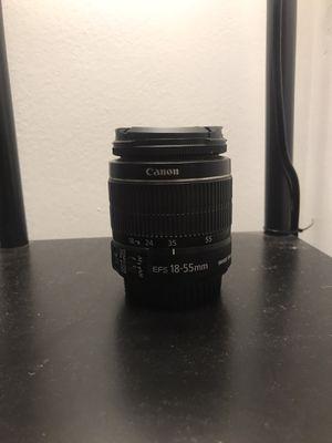 (2) Canon 18-55mm kit lenses. for Sale in Pompano Beach, FL