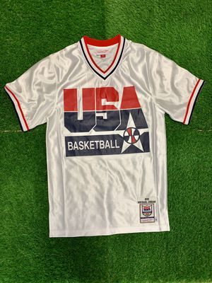 Mitchell & Ness Shooting Shirt Team USA Size Small for Sale in Woodbridge, VA