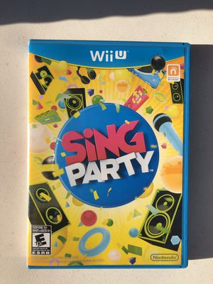 Nintendo Wii U Sing Party Game for Sale in Miami, FL