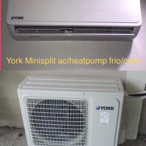 York Minisplit ac/heater frio/calor 12000btu (1ton) for Sale in Houston, TX