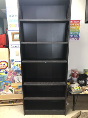 2 Black IKEA Adjustable Bookshelves ($25 each) for Sale in San Diego, CA