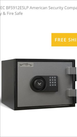BRAND NEW AMERICAN SECURITY EIGHTY MINUTE FIREPROOF SAFE for Sale in Rancho Cucamonga, CA