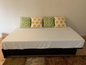 Twin Bed + Memory Foam Mattress for Sale in Sunnyvale, CA