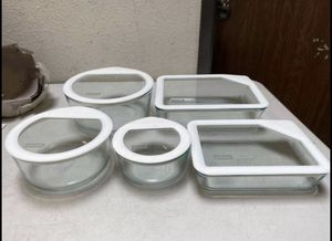 Pyrex 10 piece Ultimate Glass Food Storage Set for Sale in Chino, CA