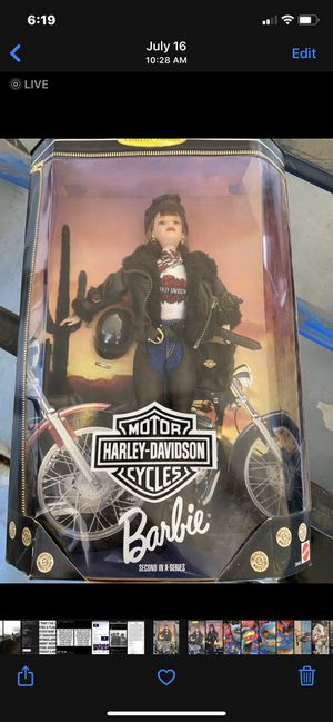 Harley Barbie 2 - NEVER opened! for Sale in Sacramento, CA