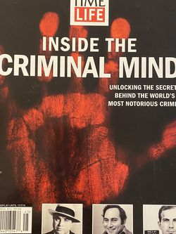 Time/Life: Inside The Criminal mind for Sale in Vista,  CA