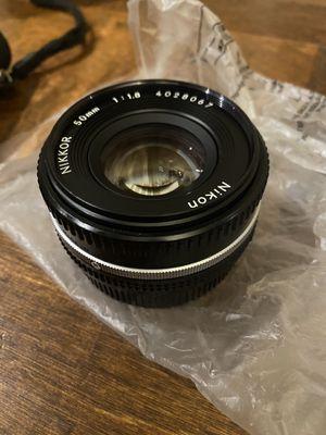 Nikon NIKKOR 50mm f/1.8D lens for Sale in San Diego, CA