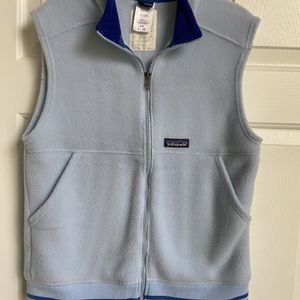 Patagonia Fleece Vest - Blue-kids L 12 for Sale in Woodstock, GA