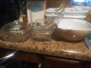 Lot of pyrex dishes for Sale in Leesburg, FL