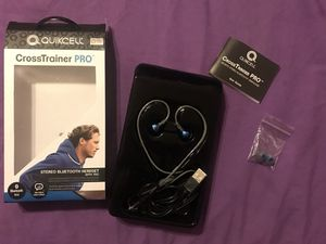Quikcell CrossTrainer PRO Bluetooth Headset for Sale in Reedley, CA