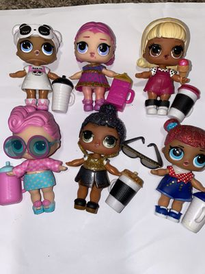 Lol dolls lot of 6 for Sale in Gresham, OR