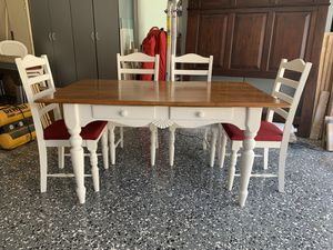 Farmhouse chic kitchen table and chairs for Sale in Carlsbad, CA