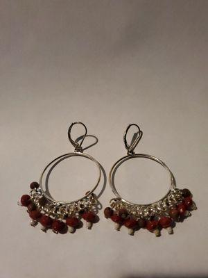 Silver dangling earthy earrings. for Sale in Los Angeles, CA