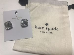 Kate Spade New York Large Square Clear Stud Earring for Sale in Kirkland, WA